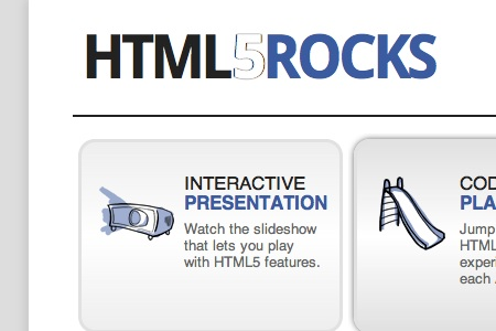 Demos de HTML5 hechos por Google - Google-dice-HTML5Rocks