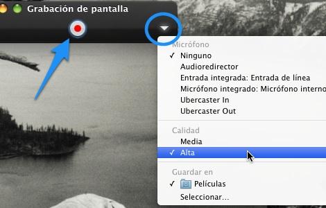 Cómo usar Quicktime Player para grabar tu pantalla - Grabar-pantalla-Quicktime-mac-1