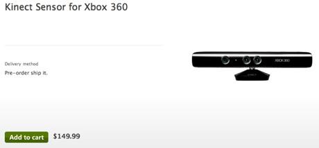 Precio Kinect para XBOX 360 confirmado - KInect-xbox-360-precio-149.99-usd