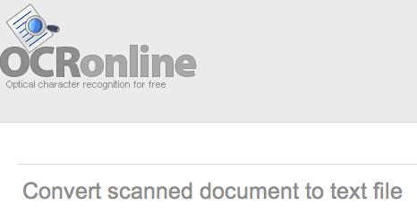 OCR Online Como convertir documentos escaneados a texto con OCR Online