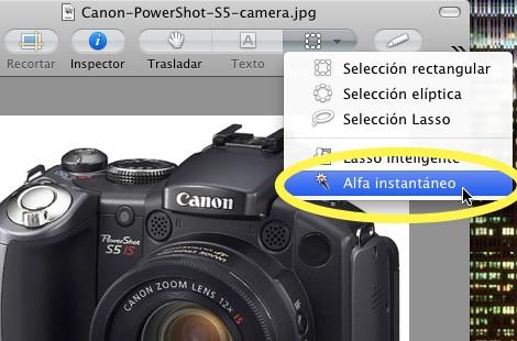Elimina el fondo de una imagen en Mac - Quitar-fondo-imagenes-con-Vista-Previ