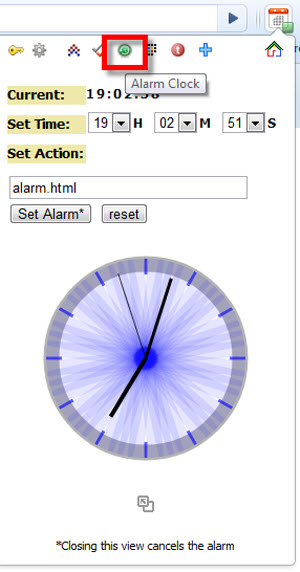 Como Integrar Google Calendar en Chrome - alarma-google-calendar