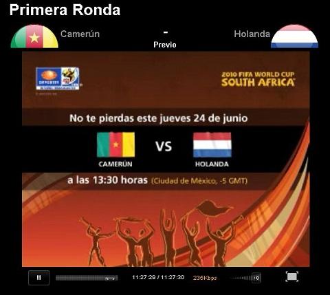 Camerun vs Holanda en vivo - camerun-holanda-en-vivo-mundial