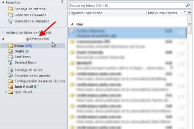 cuenta hotmail outlook Agregar tu cuenta de Hotmail en Outlook 2010