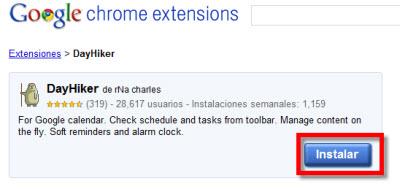 dayhiker Como Integrar Google Calendar en Chrome