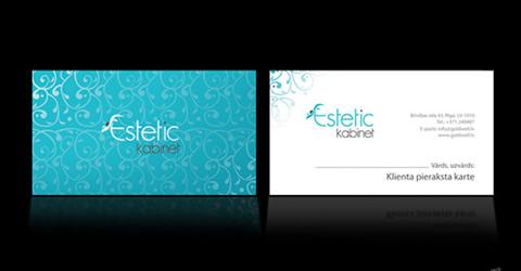 Diseños de tarjetas de presentación (95 diseños) - diseno-tarjetas-presentacion-Estetic-Kabinet
