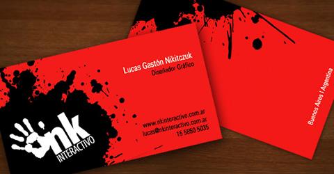 Diseños de tarjetas de presentación (95 diseños) - diseno-tarjetas-presentacion-NK