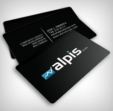 diseno tarjetas presentacion alpis Diseños de tarjetas de presentación (95 diseños)
