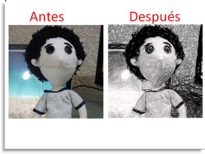 Efectos artisiticos a imagenes en Office 2010 - efecto-artistico-antes-despues
