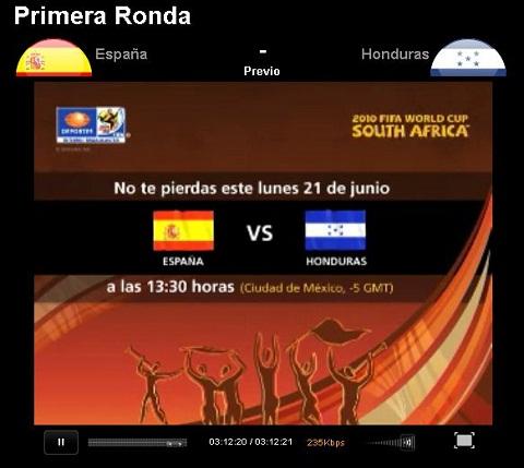 espana honduras en vivo mundial España vs Honduras en vivo