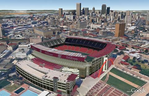 estadios mundial sudafrica Estadios de sudáfrica 2010 en 3D