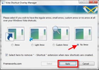 Quitar flecha de accesos directos - flechas-acceso-directo
