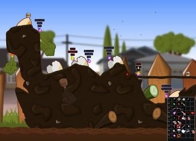 Hedgewars, un juego adictivo multiplataforma - hedgewars-0.9.13