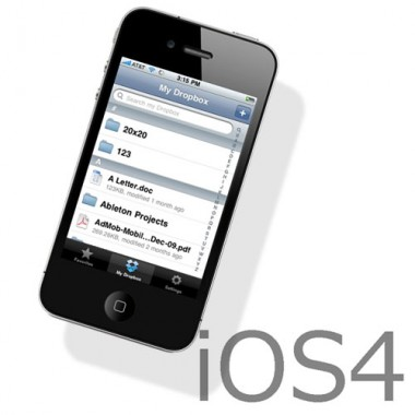 iOS4 with iPhone 4 e1277141321690 Consejos antes de actualizar tu iPhone al iOS 4