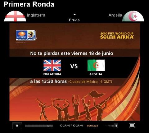 Inglaterra vs Argelia en vivo - inglaterra-argelia-en-vivo-mundial