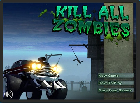 Juegos de carros, Kill All Zombies - juegos-de-carros-kill-all-zombies
