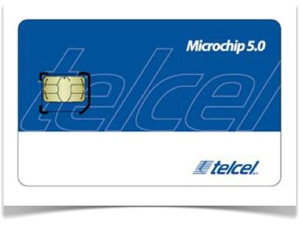iPad en México con Telcel - microchip-telcel-ipad