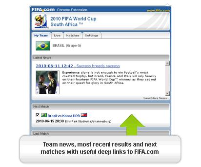 Sudafrica 2010 en Google Chrome - mundial-futbol-2010-chrome