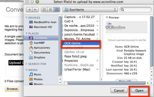 Como convertir documentos escaneados a texto con OCR Online - ocr-online-2