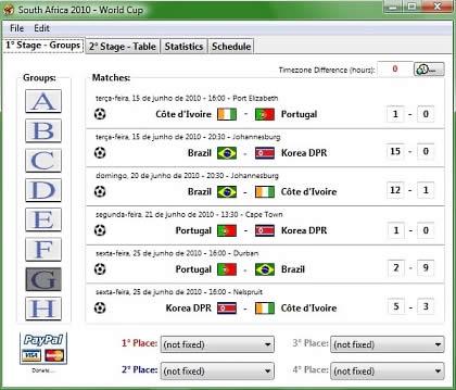 partidos del mundial Partidos del mundial en tu computadora