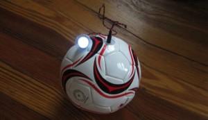 pelota futbol energia electrica Pelota de futbol que almacena energía