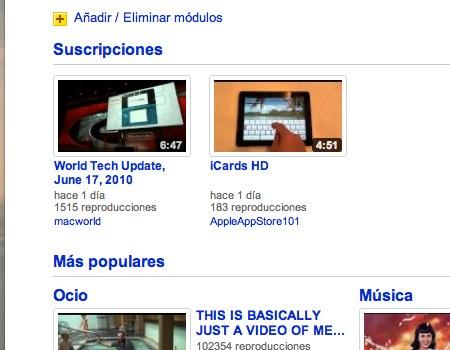 Como personalizar la pagina principal de YouTube - personalizar-pagina-youtube-3