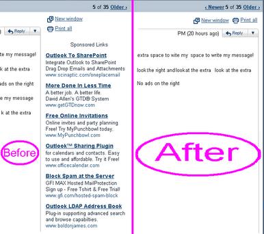 publicidad gmail Quitar publicidad de hotmail, gmail y yahoo