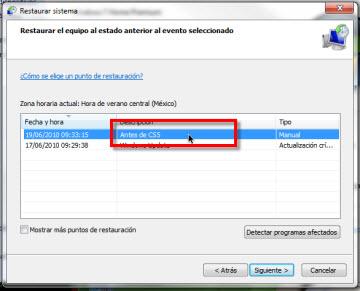 Crear un punto de restauracion en Windows 7 - restaurar-sistema-punto-restauracion