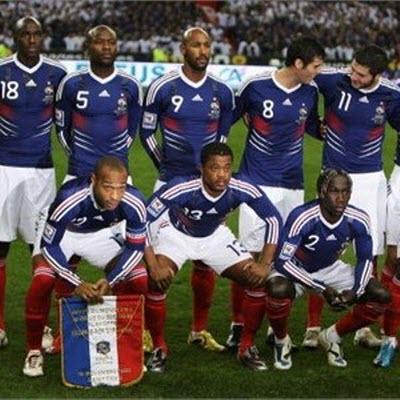 Grupo A, Mundial Sudafrica 2010 - seleccion-francia-sudafrica2010