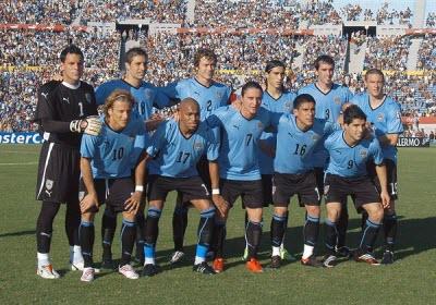 seleccion uruguay mundial2010 Grupo A, Mundial Sudafrica 2010