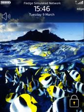 temas blackberry medio sumergido Temas blackberry gratis (6 temas)