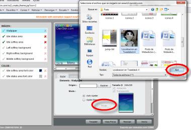 Crear temas para celular en OwnSkin - temas-para-celular