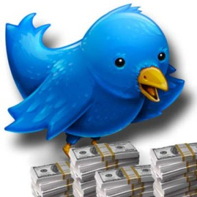 Twitter planea monetizar Trending Topics - twitter-dinero