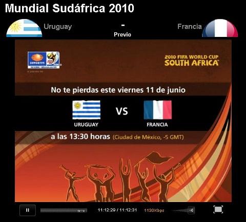 uruguay francia en vivo mundial Uruguay vs Francia en vivo