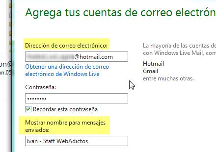 Como agregar cuenta correo hotmail a Windows Live Mail - Agregar-cuenta-correo-windows-live-mail_2