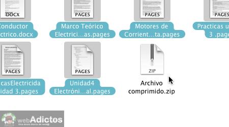 Como comprimir un archivo en mac 4 Como comprimir archivos en Mac
