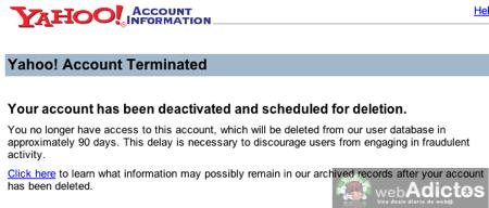 Como eliminar o borrar cuenta de Yahoo 5 Como borrar tu cuenta de Yahoo