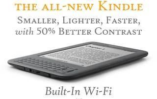 Amazon lanza un nuevo Kindle - Kindle3