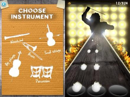 Street Orchestra, RockBand de música clásica para iPhone - Street-Orchestra-App-iPhone1