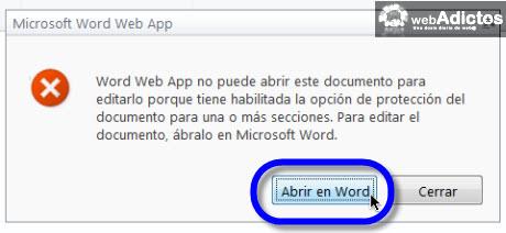 Aumentar la seguridad en tus documentos de Office 2010 - abrir-documento-en-word