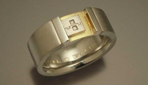 anillo geek de compromiso Anillo geek de compromiso