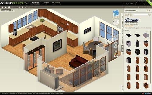 Diseñar casa online con Autodesk Homestyler - autodesk-homestyler