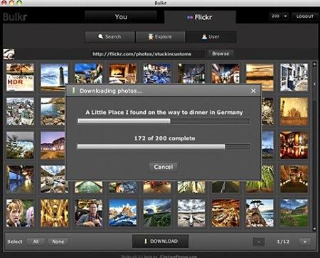 Descarga álbumes completos de Flickr con Bulkr - bulkr