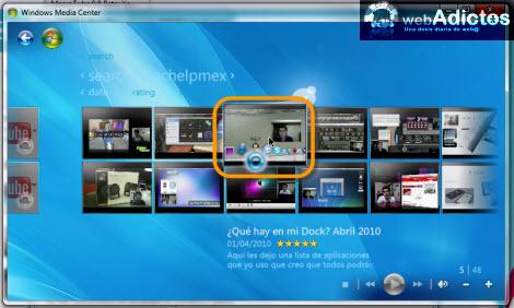 Ver videos de YouTube en Windows Media Center - canales-youtube-windows-media-center1