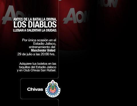 Chivas vs Manchester United en vivo - chivas-manchester-united-en-vivo
