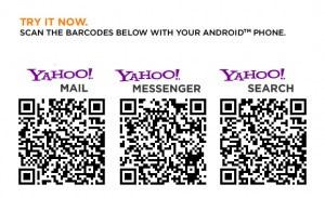 Correo Yahoo y messenger para Android - corre-yahoo-qrcodes