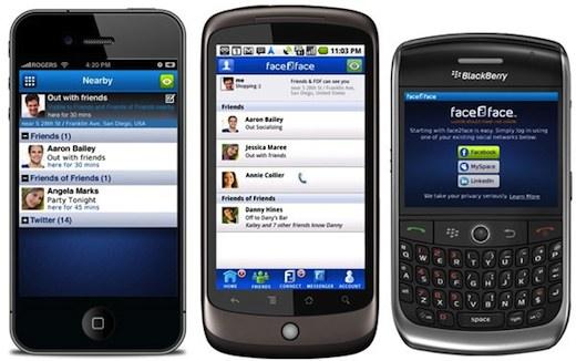 Combina tus redes sociales en una sola aplicación con face2face - face2face
