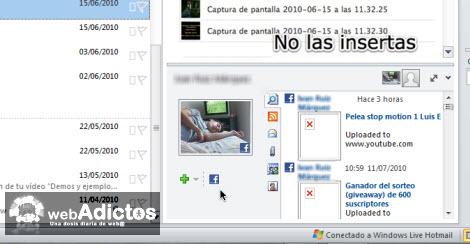 Revisa tu Facebook desde Outlook 2010 - facebook-outlook