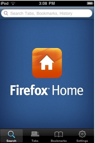 Firefox Home para iPhone disponible - firefox-home
