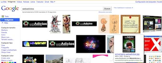 Como utilizar la antigua interfaz de Google Image Search - google-image1